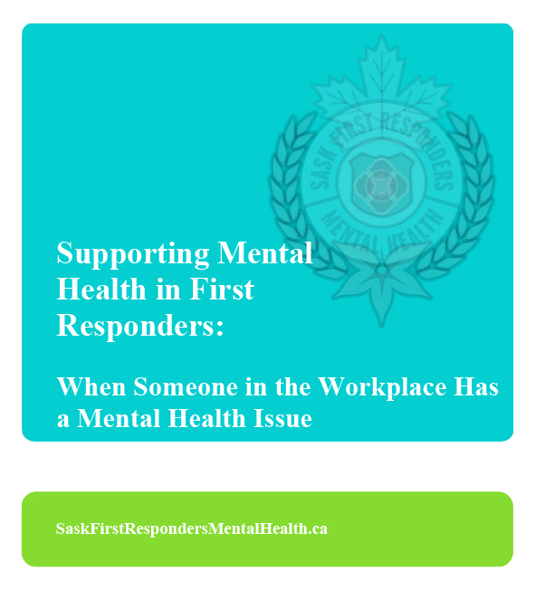 When Someone in the Workplace Has-a-Mental Health Issue Cover