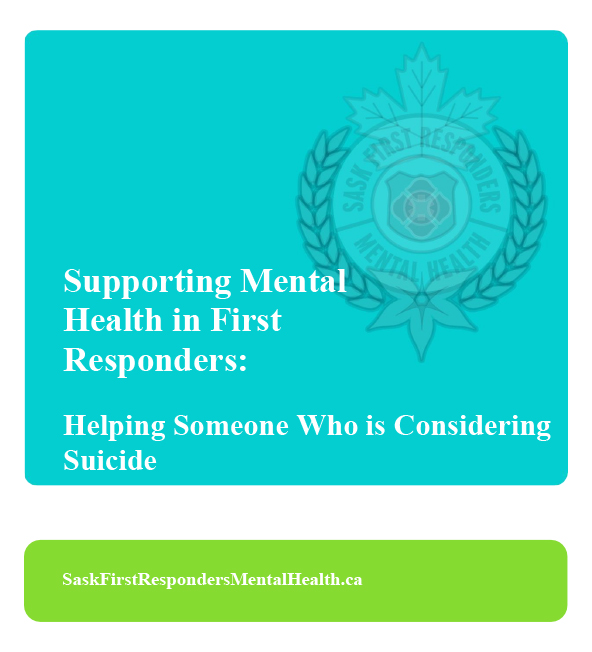 Helping Someone who is Considering Suicide Cover