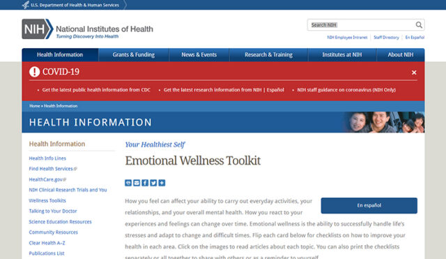 Emotional Wellness Toolkit cover