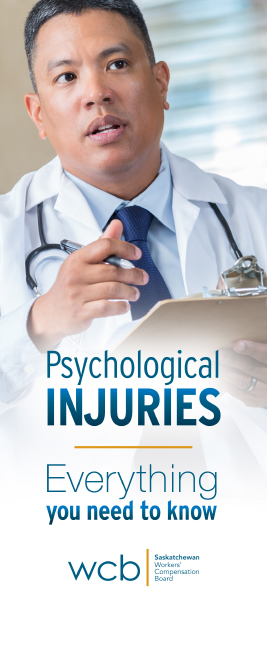 Psychological injuries brochure cover